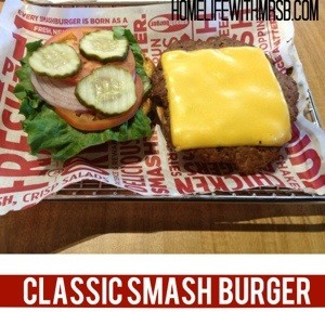 The Classic Burger had an all american taste to it. The burger was ...