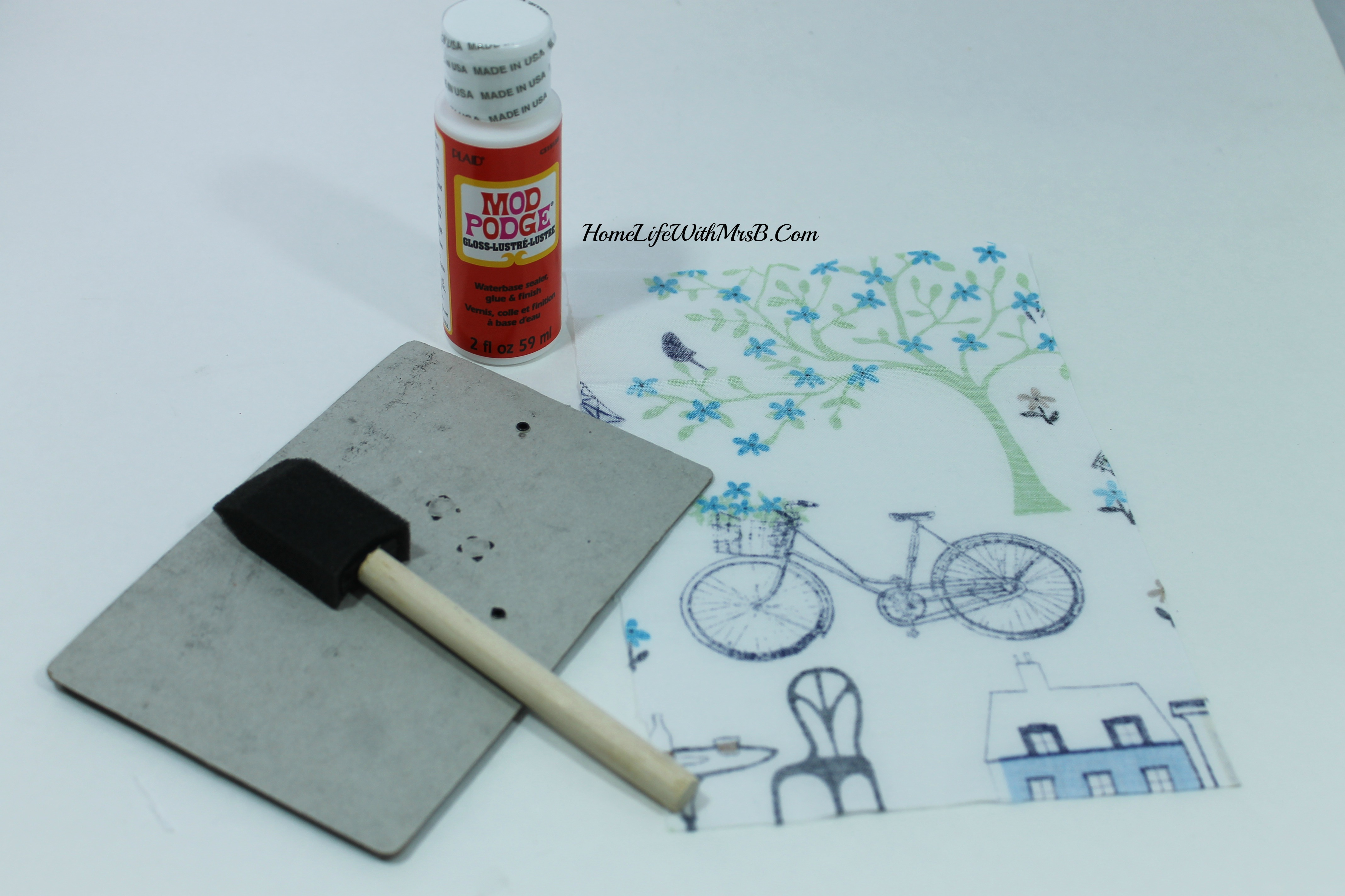 DIY earring holder 7