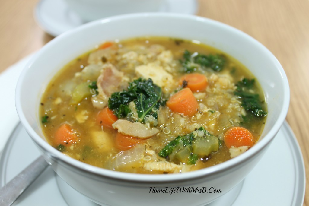 Step 17 soup