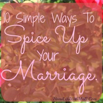 spice up your marriage crop